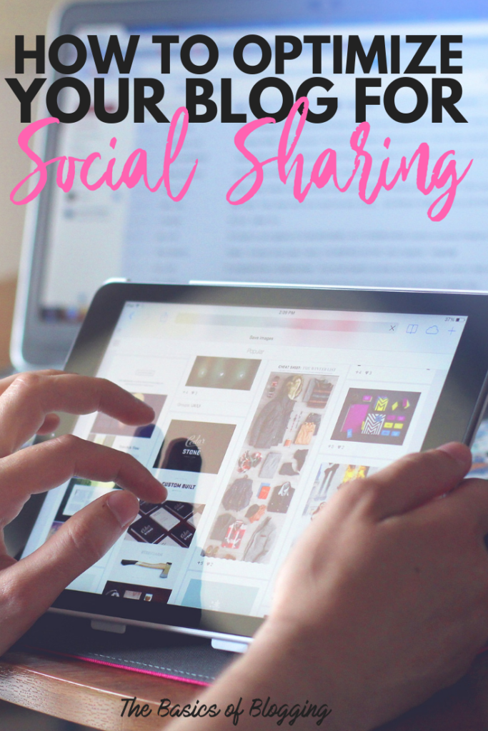 How to optimize your blog for social sharing